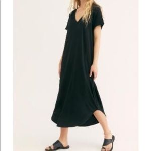 Free People FP Beach Lotus Midi Dress